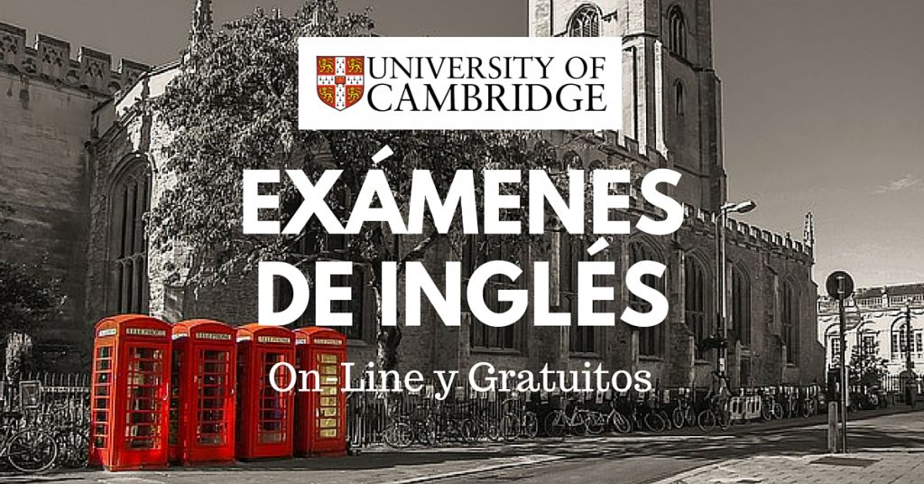 La Universidad de Cambridge lanza test de inglés gratuitos online