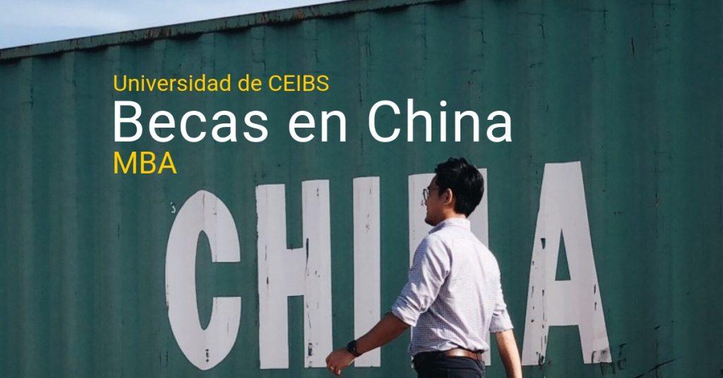Beca para MBA en China