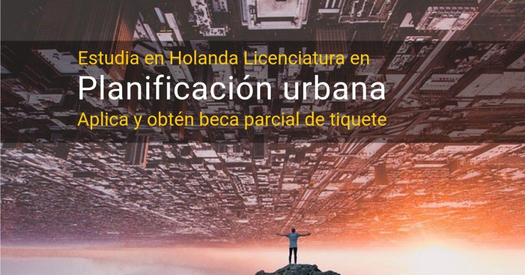 Estudia planificación urbana en Países Bajos