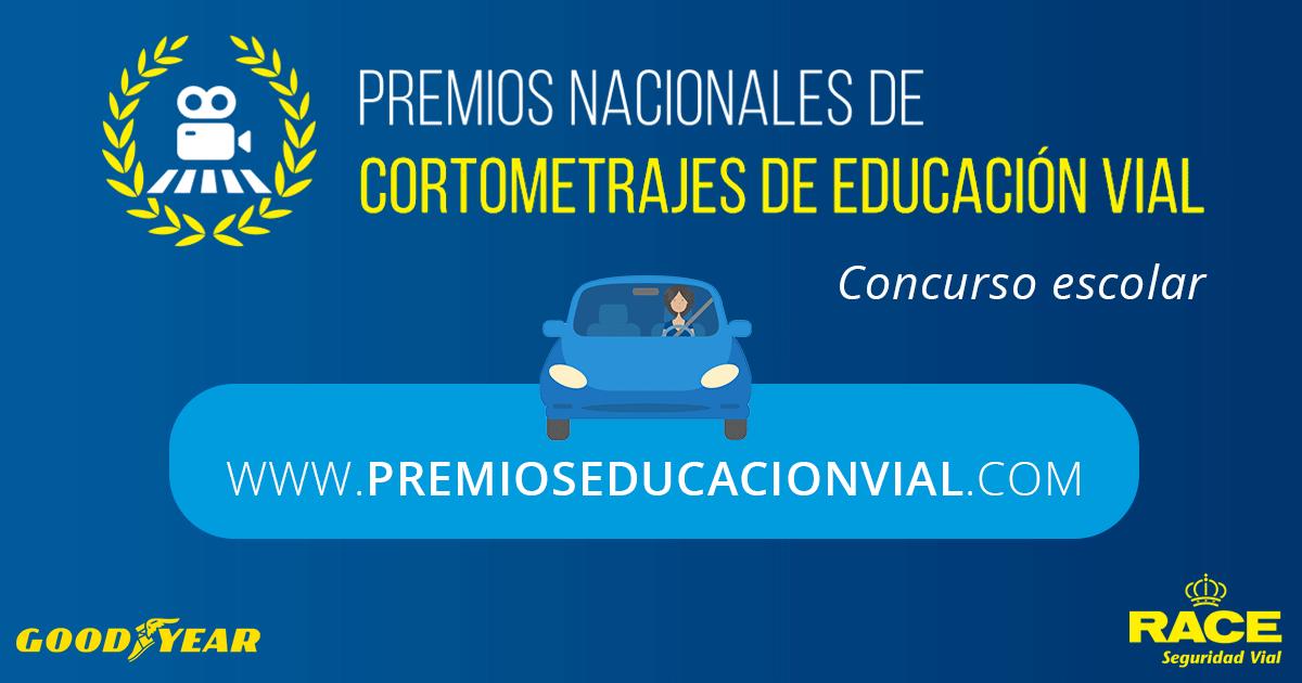 VII tiraje de los Premios Nacionales de Cortometrajes de Educación Viario: ¡participa con tus alumnos!