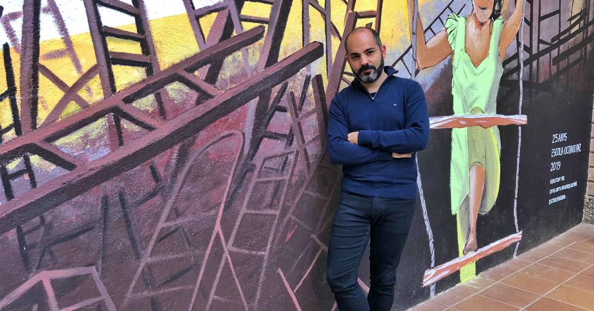 """Xavier López: """"La escuela tiene que inaugurar miradas, inaugurar puertas y ventanas al extranjero""""."""