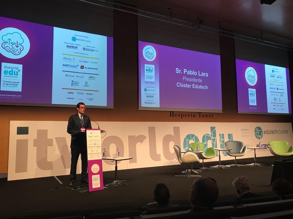 aulaPlaneta participa con éxito en el ITworldEdu 2019