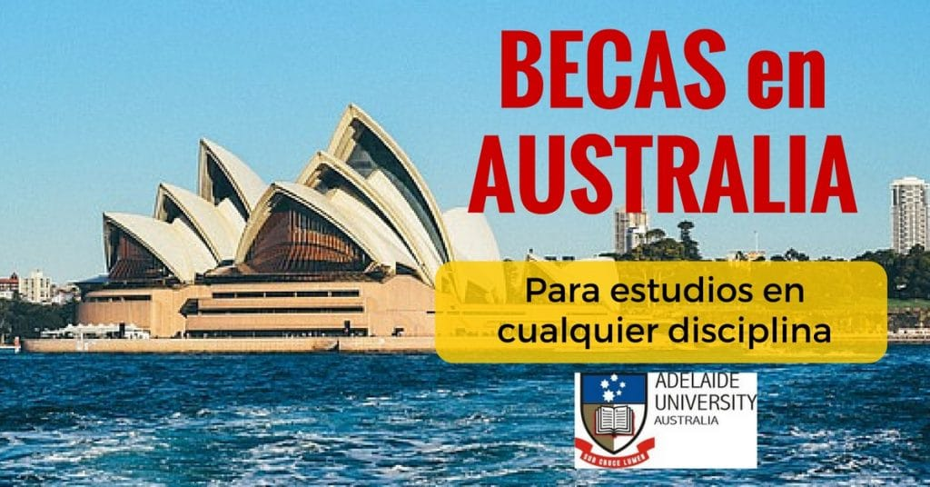 Becas en Australia con la Universidad de Adelaida