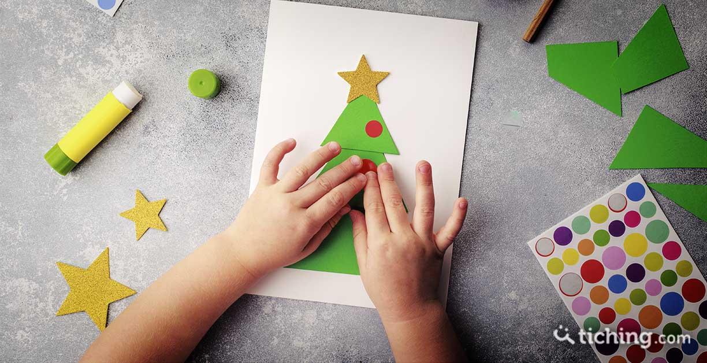 8 manualidades con materiales reciclados para ornar el cátedra en Navidad