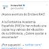 La RAE crea un muestrario en Twitter ¡Y se hace vírico!