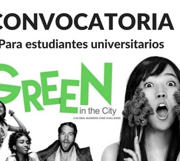 Convocatoria abierta para estudiantes universitarios Go Green in the City – Viaja con todo suscripción