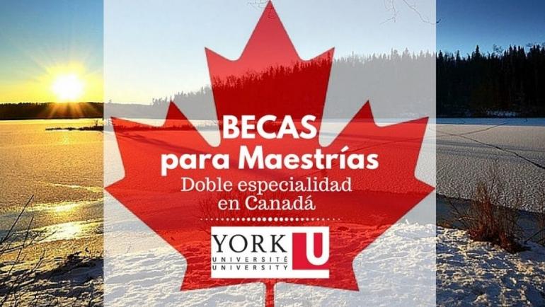 Becas para maestrías de doble particularidad en Canadá