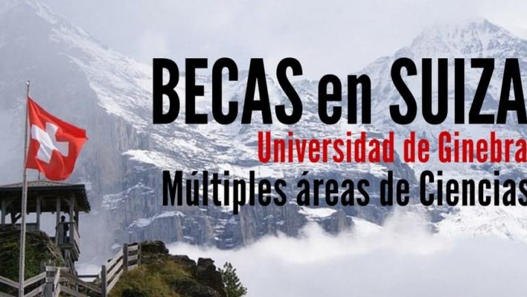 Becas en Ciencias en la Universidad de Ginebra en Suiza