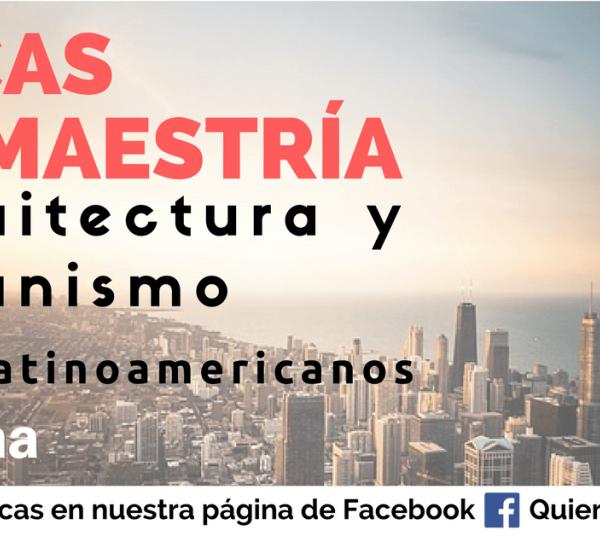 Becas para arquitectas, arquitectos y urbanistas en España