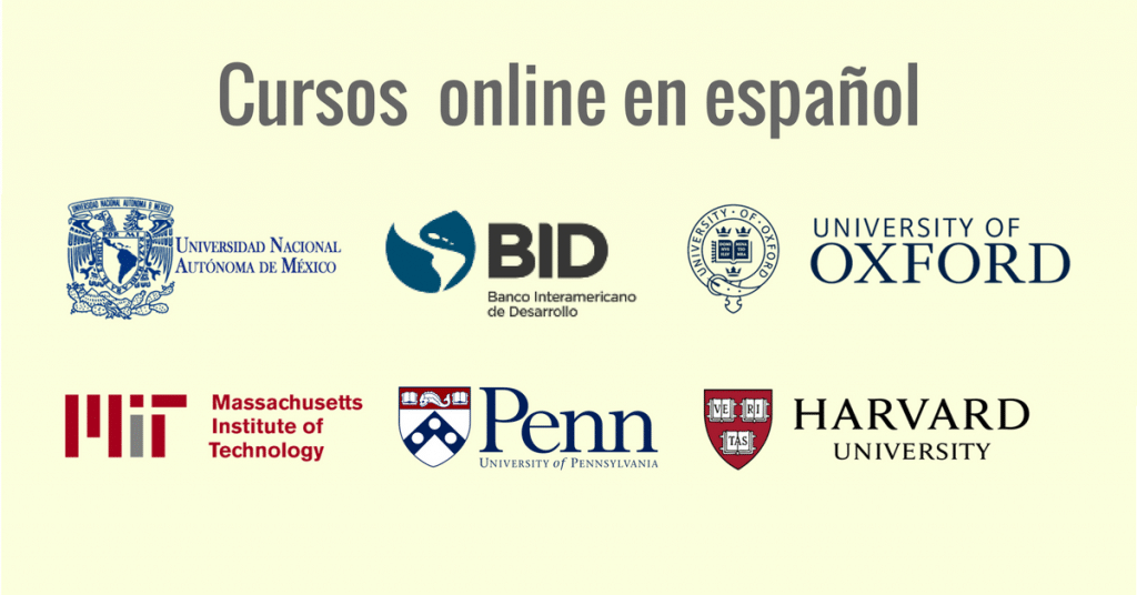 Nuevos cursos online gratuitos y en gachupin