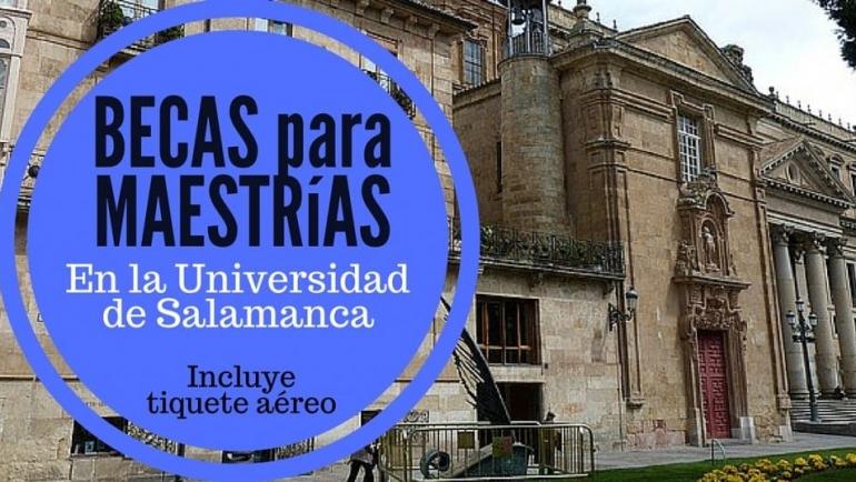 Becas para cursar industria en España – INCLUYE pasajes !  Universidad de Salamanca