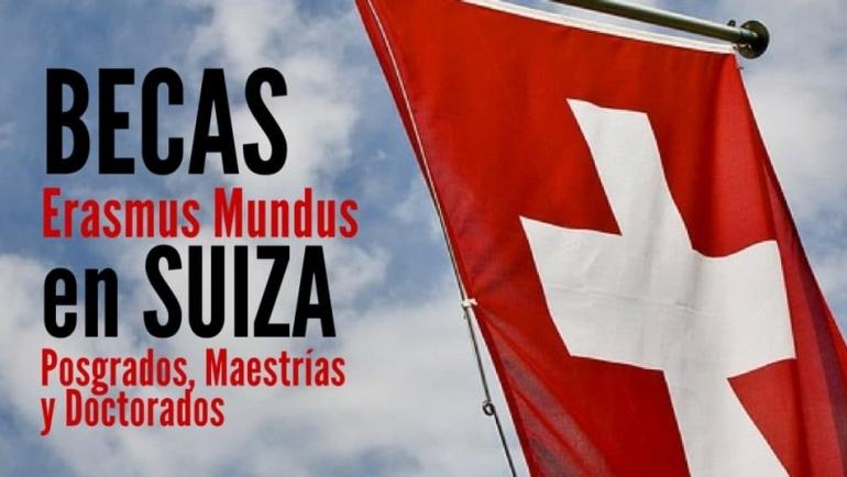 Becas Erasmus Mundus para estudiar en Suiza