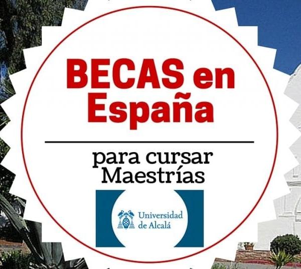 Becas de Pericia en la Universidad de Alcalá en España