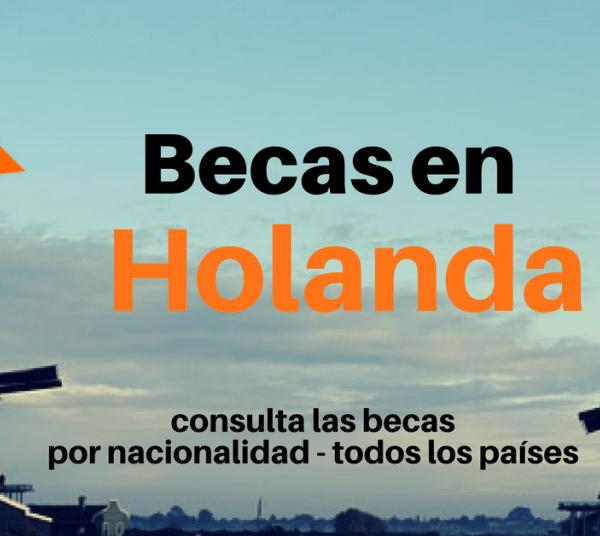 Becas en Holanda – consulta las becas disponibles por ciudadanía