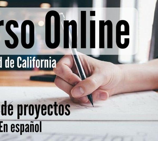 Curso online, regalado y en gachupin sobre encargo de proyectos