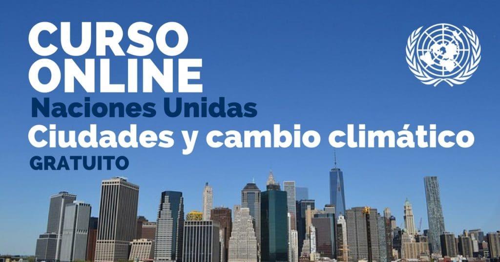 Curso online: Las ciudades y el cambio climático