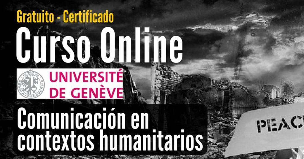 Curso online y gratis sobre comunicación para contextos humanitarios