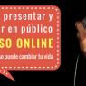 Curso online certificado : Cómo presentar y balbucir en notorio