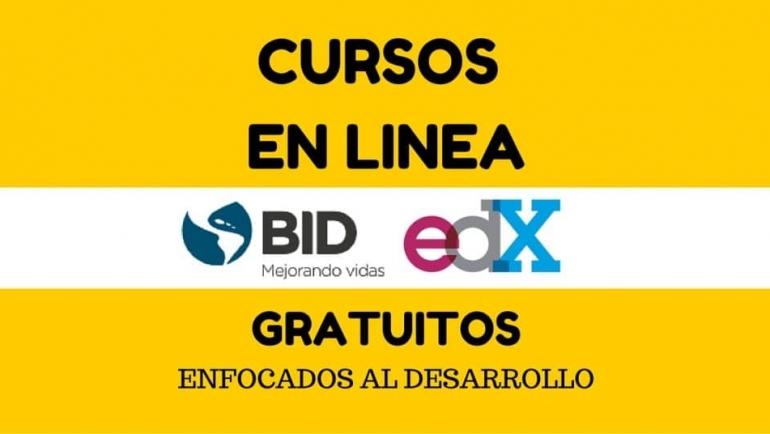 Cursos enfocados en el expansión ofrecidos por BID – Gratuitos y en Castellano