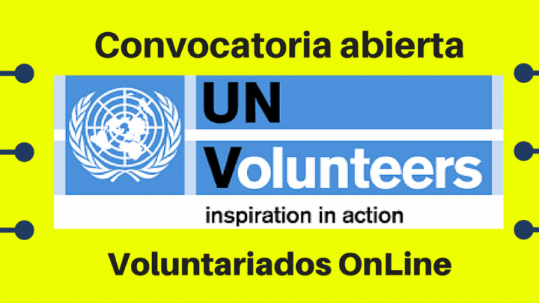 Convocatorias Voluntariado on line: Software de Voluntarios de Naciones Unidas UNV