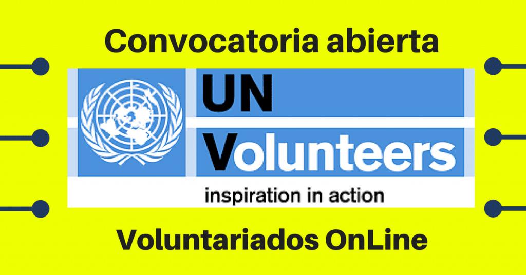 Convocatorias Voluntariado on line: Software de Voluntarios de Naciones Unidas UNV