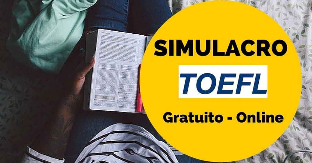 Practica para el TOEFL con un simulacro online y de balde