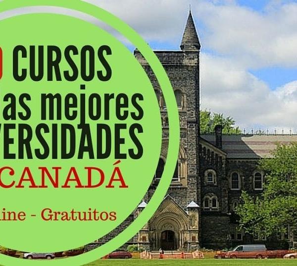 30 cursos online improcedente acreditados por universidades de Canadá
