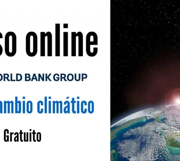 Curso online y sin cargo de Costado Mundial sobre el cambio climático