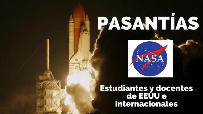 Convocatoria para prácticas laborales con la NASA en Estados Unidos