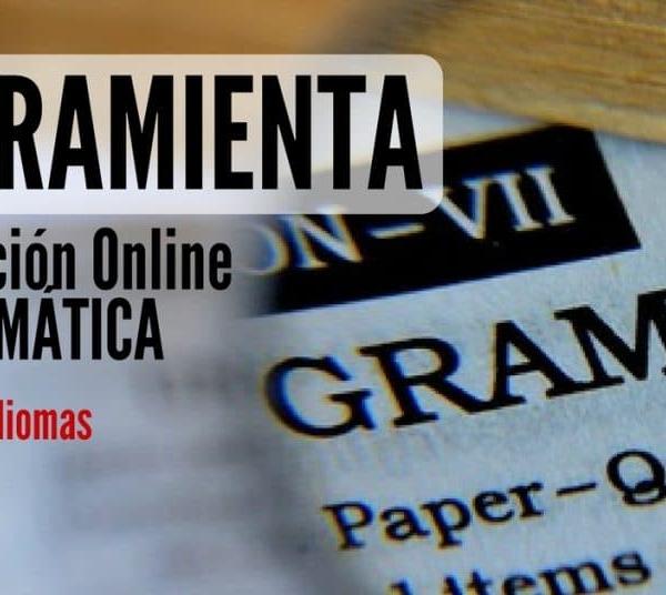 Aparejo gratuita y online para corregir gramática en varios idiomas