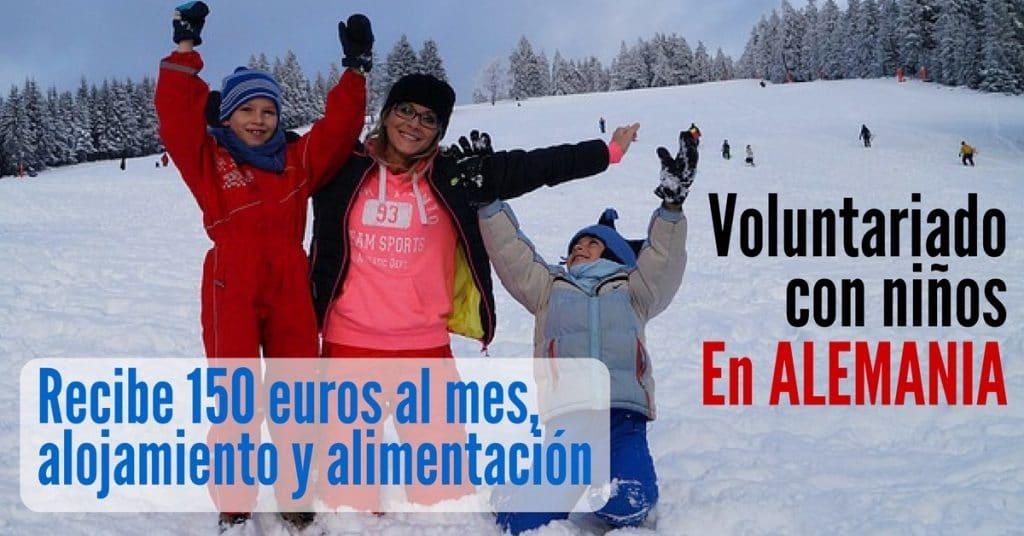 Voluntariado para educación con niños y niñas en Alemania