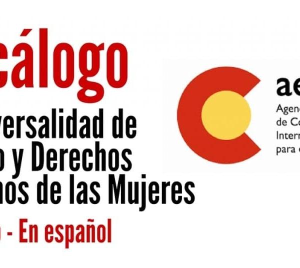 Descarga gratis el Decálogo de Transversalidad de Artículos y Derechos Humanos de las Mujeres