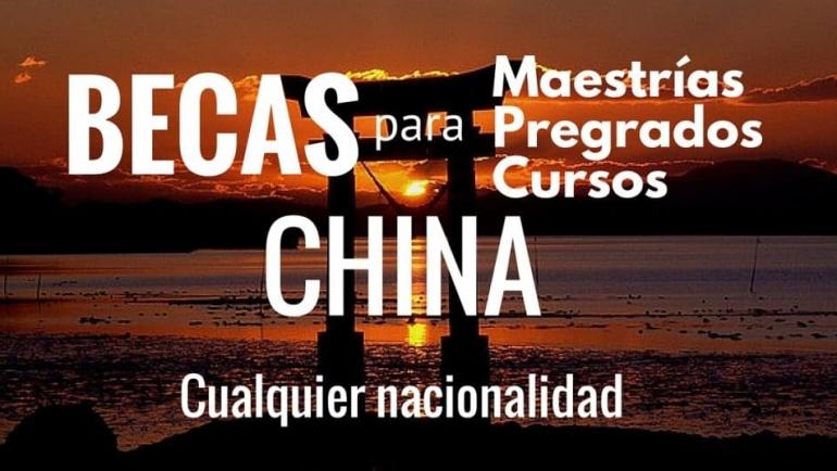 Becas en diferentes áreas para estudiar en China – todavía aplica para estudiar Chino