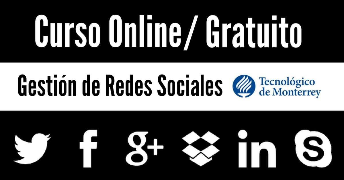 Curso online y regalado: administración de redes sociales