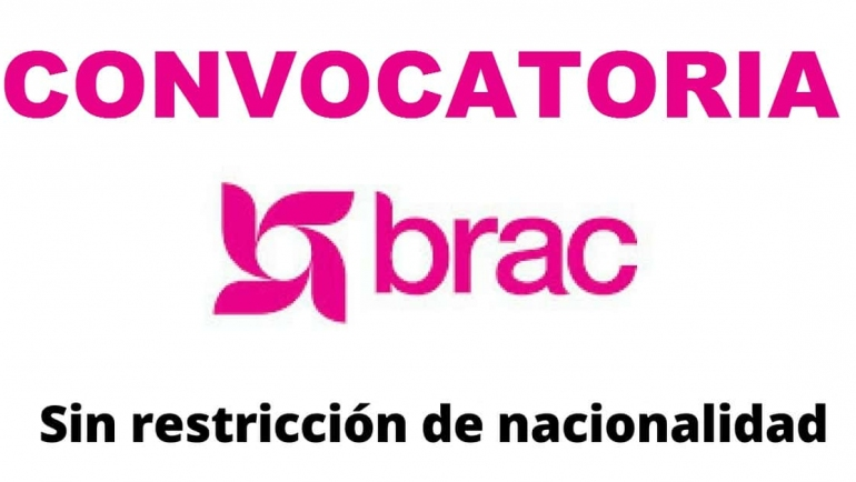 Convocatoria internacional con la estructura internacional de progreso rural – Brac
