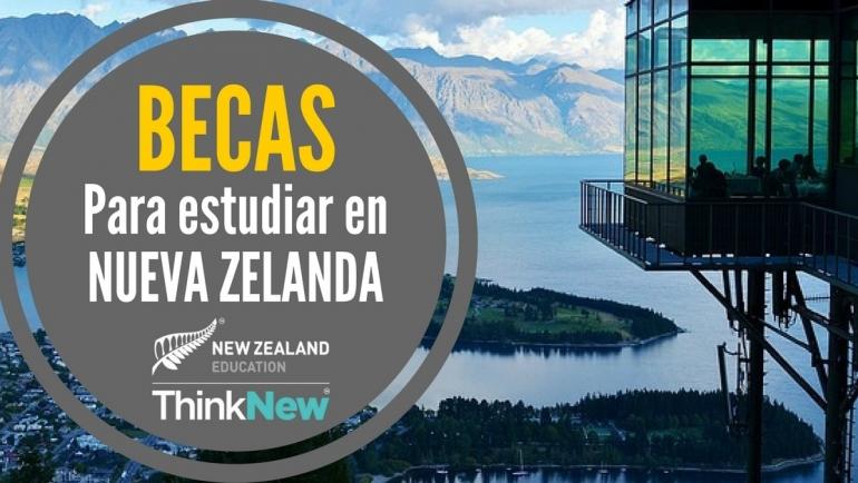 Becas para estudiar en 7 universidades en Nueva Zelanda