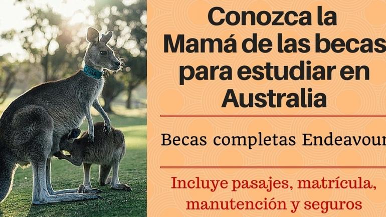 La mejor distintivo para estudiar en Australia – Becas Endeavour