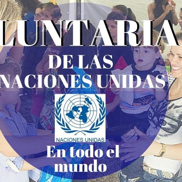 Voluntariado de las Naciones Unidas
