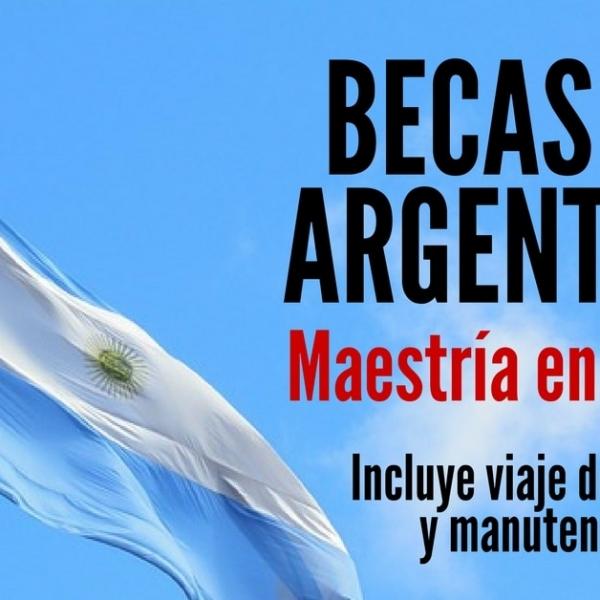Becas en Argentina para cursar maestría en DDHH