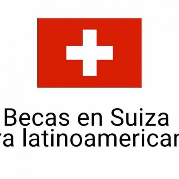 Becas del gobierno de Suiza para Latinoamericanos