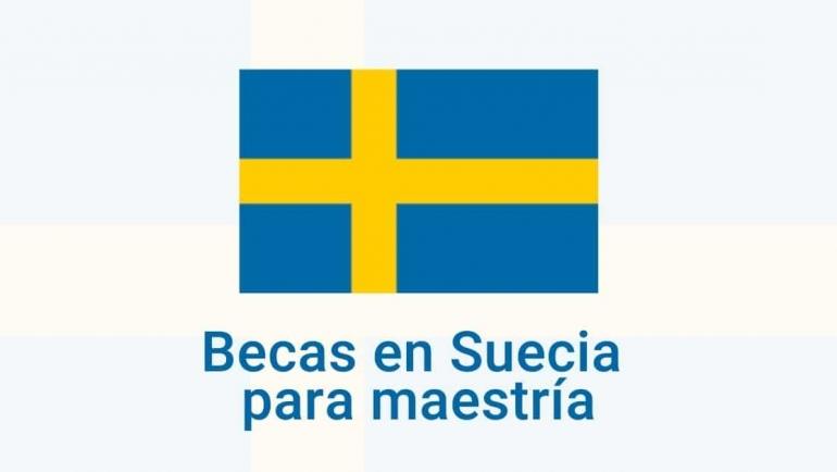 Becas en Suecia para maestrías