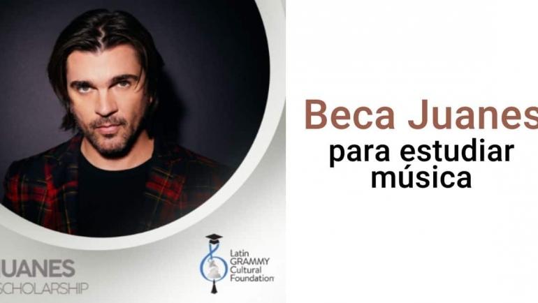 Becas Juanes para estudiar música